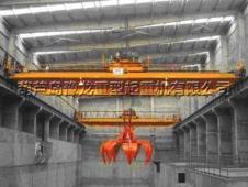 朝阳金麟铁精粉有限公司QZ5T-19.5米抓斗起重机